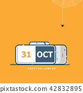 calendar for 31 october happy halloween 42832895