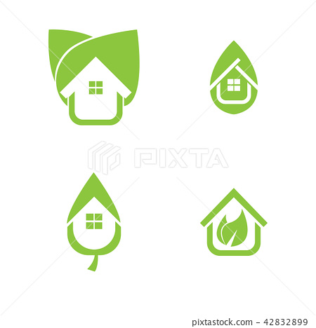 eco real estate concept vector flat design 42832899