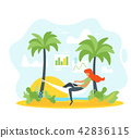 casual, freelance, vacation 42836115