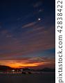 早晨的星星和晨曦在瀨戶內的盡頭 42838422