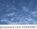 blue sky 42840987
