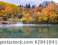 Autumn Onsen Lake Aomori Japan 42841641