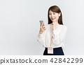 女商人(智能手機) 42842299