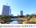 일본 정원, 겨울, 정원 42842917