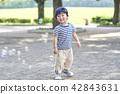 소년 유아 공원 부모 가족 42843631