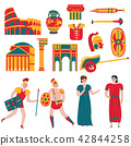 Ancient Rome Icon Set 42844258