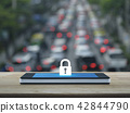 Business internet security and safety concept 42844790