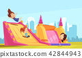 Bouncy Castle Flat Composition 42844943