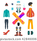 Snowboarding equipment set 42846006