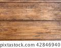 Old brown grunge wooden background texture 42846940