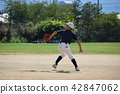 Boys Baseball Pitcher 42847062