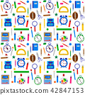 School seamless pattern 42847153