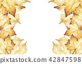 잎, 배경, 단풍 42847598