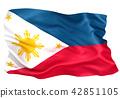 ธงฟิลิปปินส์ 42851105