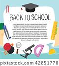 back to school vector design 42851778