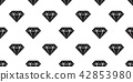diamond seamless pattern vector isolated jewelry 42853980