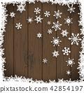 눈, 눈송이, 설편 42854197