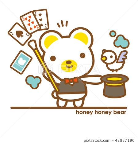 蜂蜜蜜熊魔術師 42857190