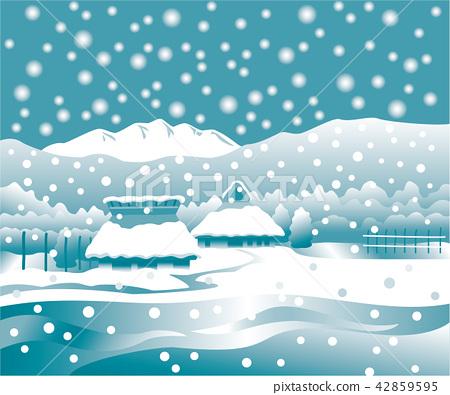國家雪景 42859595