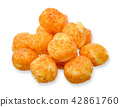 Snack isolated on white with clipping path 42861760