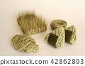 用大米和大麥做的食物 42862893