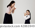 媽媽,女兒,家庭 42863949