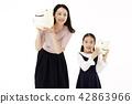 媽媽,女兒,家庭 42863966
