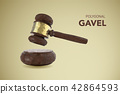 polygonal gavel judge 42864593