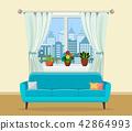 window room interior 42864993