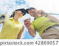 golf woman couple 42869057
