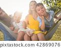 family, hammock, portrait 42869076
