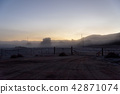 안개 낀 고원 목장 미국 캘리포니아 42871074