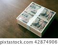 ธนบัตร,ทอง,เงินสด 42874906