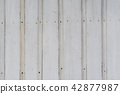 Old white wall background 42877987