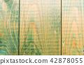 Greenish wooden background 42878055