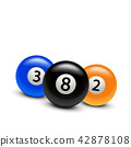 pool, ball, billiard 42878108