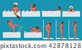 man in bath set 42878128