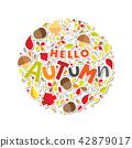 Autumn leaf maple 42879017