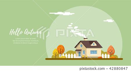 Family suburban home 42880847