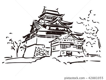 Shogane县松江市/松江城堡 42881055