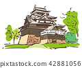 Shogane县松江市/松江城堡 42881056