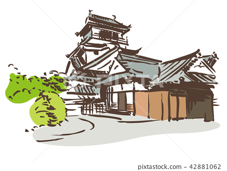 Kochi Prefecture Kochi City / Kochi Castle 42881062