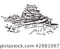 兵库县姬路市/姬路城 42881067