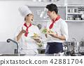 廚師,男人,韓國人 42881704