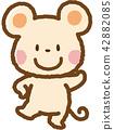 深灰色 老鼠 鼠標 42882085