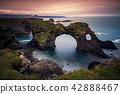 Gatklettur arch rock near Hellnar Iceland. 42888467