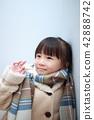 เสื้อ Duffle (ภาพฤดูหนาวด้านนอกเสื้อคนญี่ปุ่นเด็กคัดลอกอวกาศเด็ก) 42888742