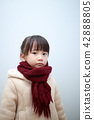 Duffle外套(外冬季肖像外套人日本嬰兒副本空間兒童) 42888805