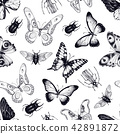 bug vector pattern 42891872