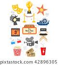 Cinema and Movie Infographics 42896305
